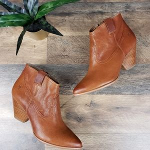 🆕️ Frye Reina Western Style Heeled Ankle Boots